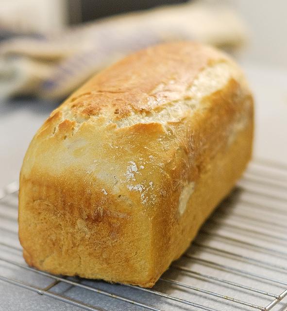 White Bread Recipe (BreadMachine)